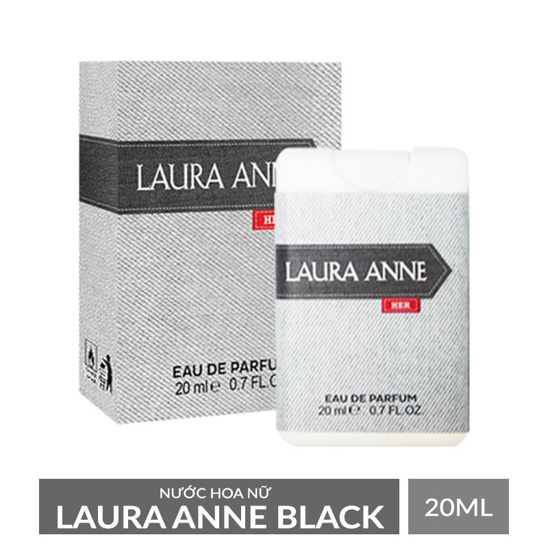 Nước hoa nữ Laura Anne Black 20ml