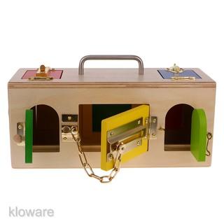 Wooden Montessori Material – Little Lock Box