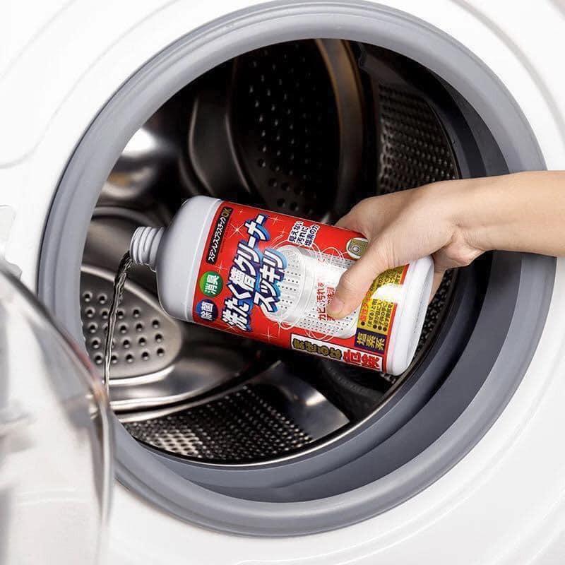Nước tẩy lồng máy giặt 400g (ảnh thật)