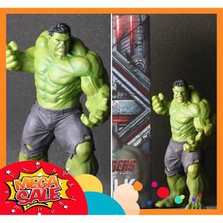 [Có Sẵn] Mô Hình Tĩnh Hulk Khổng Lồ Xanh 25cm Phiên Bản Age of Ultron Phong Cách Crazy Toys