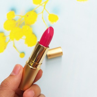 Son dưỡng môi Pourto A Nhât Bản số 1002 (chiết xuất thực vật, mềm môi, màu hồng tự nhiên)