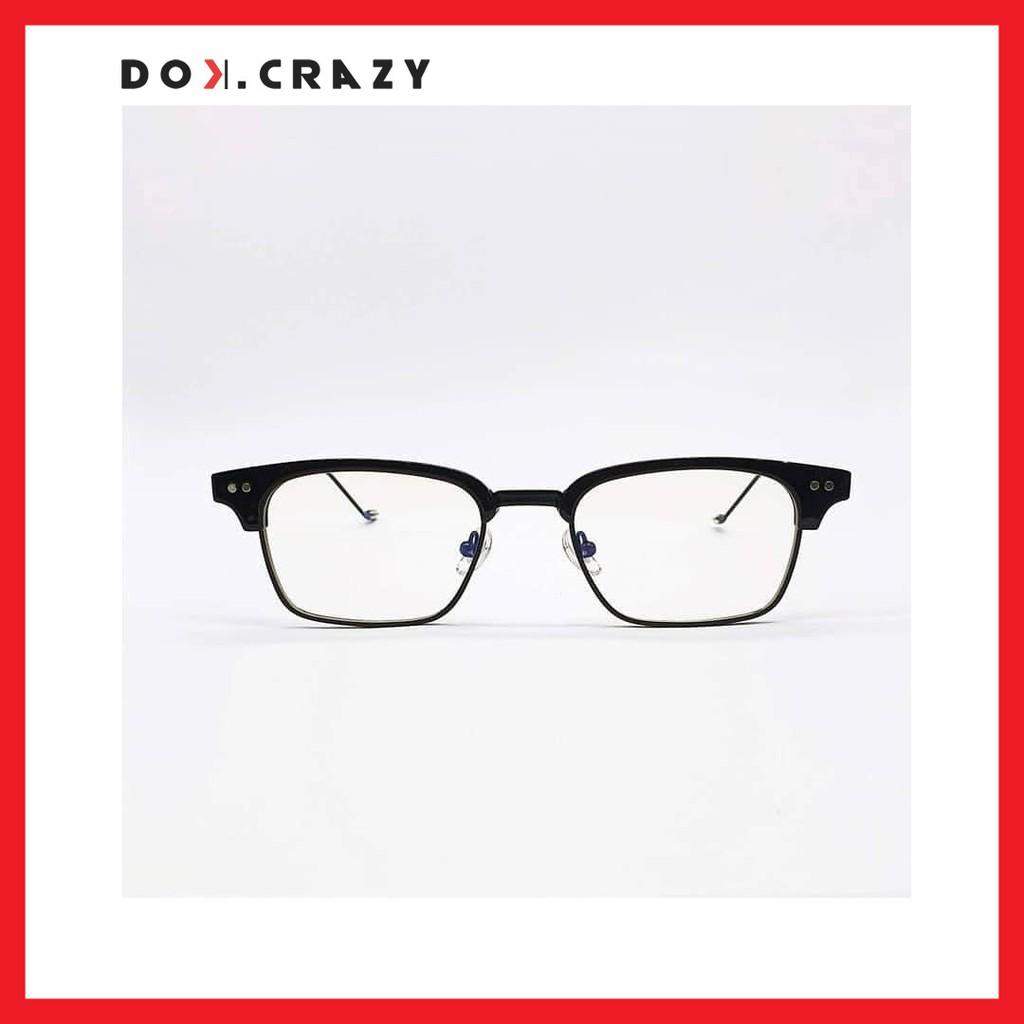 [Mã FA35K giảm 15% đơn 99K] [Chính hãng] BAKAN Gọng kính cận hợp kim cao cấp dáng vuông Dokcrazy phong...