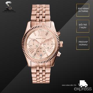 Đồng hồ nam nữ Michael kors MK5569 full 5 kim hãng thumbnail