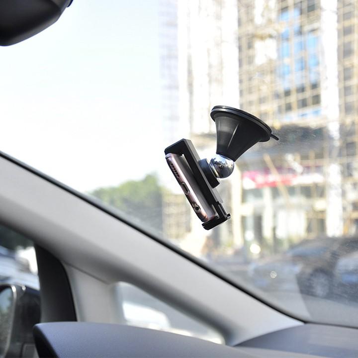 Giá đỡ điện thoại trên táp lô và kính xe hơi M12C