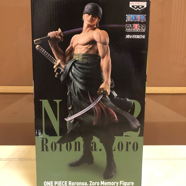 Mô hình One Piece – Ichibankuji Banpresto The Best Edition B Award No 02 Roronoa Zoro( Limited Edition)