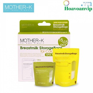 Túi trữ sữa non Mother-K Hàn Quốc 30c KM13034