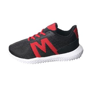 Giày thể thao nam G143 (Đen đỏ) MĐ