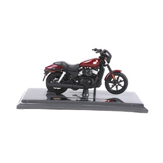 Mô hình xe mô tô Maisto 1:18 Harley Davidson 2015 Street 750 Red Bike Motorcycle Model New in Box