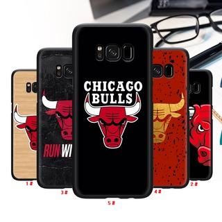 Ốp Lưng Silicone Mềm In Hình Chicago Bulls Cho Samsung S6 Edge A2 J4 Core J6 Prime J7 Duo J8 S7 Hx07