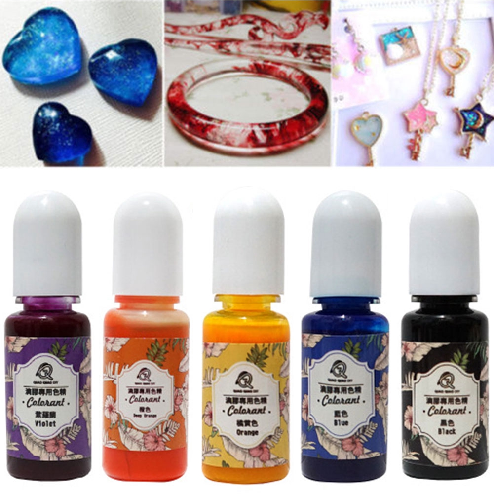 13pcs Accessories Epoxy Color Colorant UV Liquid Jewelry Making Gift Handmade DIY Art Crafts Resin Pigment