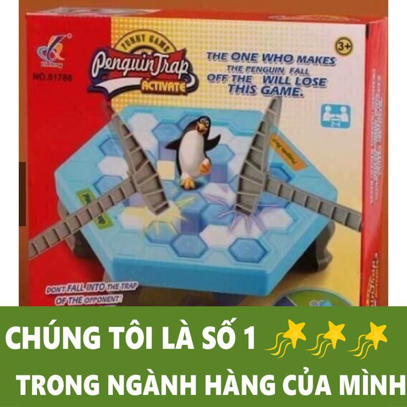 Bộ đồ chơi phá băng bẫy chim cánh cụt
