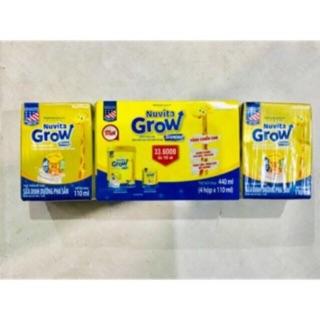 Lốc 4 hộp Sữa bột pha sẵn Nuvita Grow Diamond 110ml thumbnail