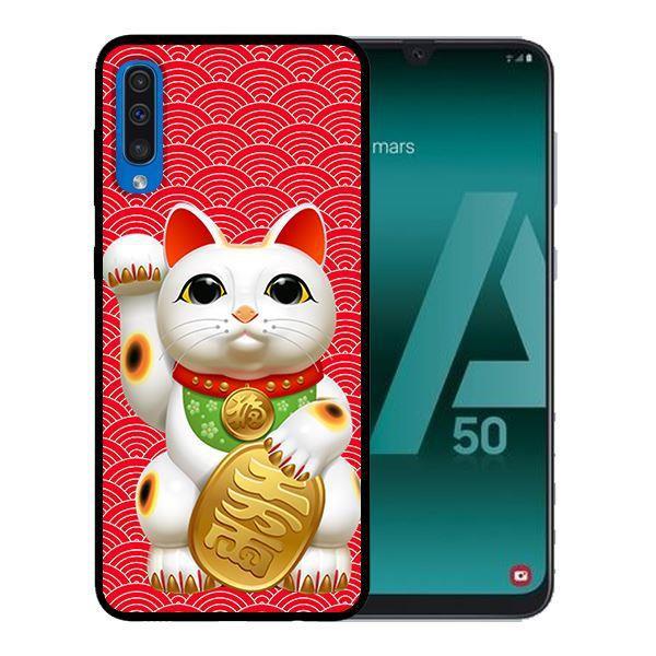 Ốp Lưng Samsung A50 - Mèo May Mắn Nền Đỏ 1 - 14501615 , 2292290578 , 322_2292290578 , 99000 , Op-Lung-Samsung-A50-Meo-May-Man-Nen-Do-1-322_2292290578 , shopee.vn , Ốp Lưng Samsung A50 - Mèo May Mắn Nền Đỏ 1