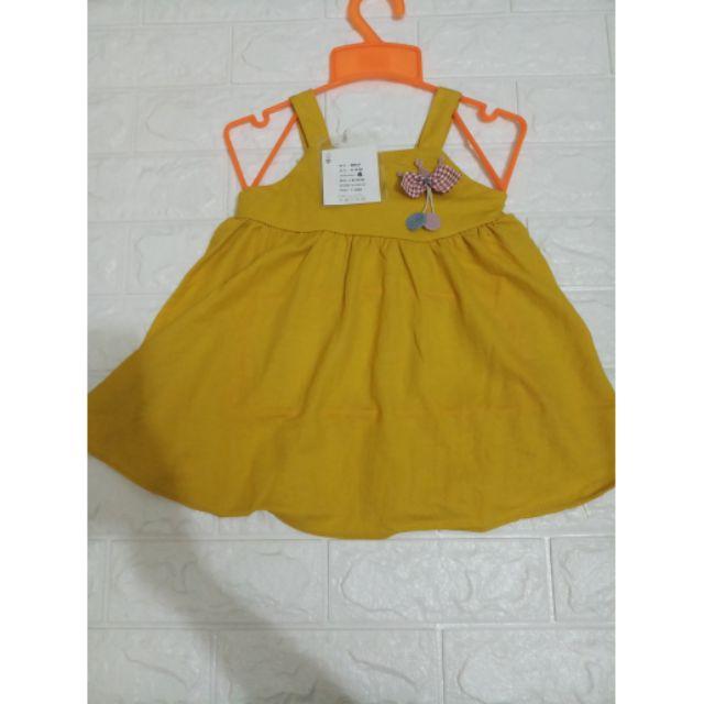 Váy vàng quảng châu chất đũi bao đẹp