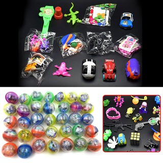 10Pcs/Set Round Shaped 45mm Capsule Toys Operational Interactive Gifts Interests