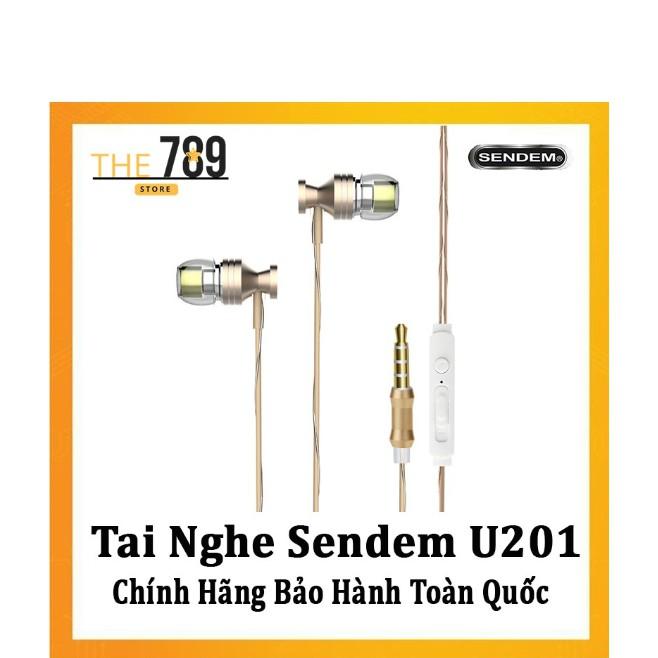 Tai Nghe Sendem U201 - Âm Thanh Siêu Hay - Tràn Đầy Cảm Xúc