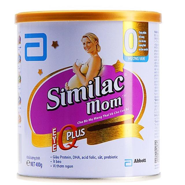 Sữa SIMILAC MOM lon 400g hương vani - 3294403 , 649963724 , 322_649963724 , 180000 , Sua-SIMILAC-MOM-lon-400g-huong-vani-322_649963724 , shopee.vn , Sữa SIMILAC MOM lon 400g hương vani
