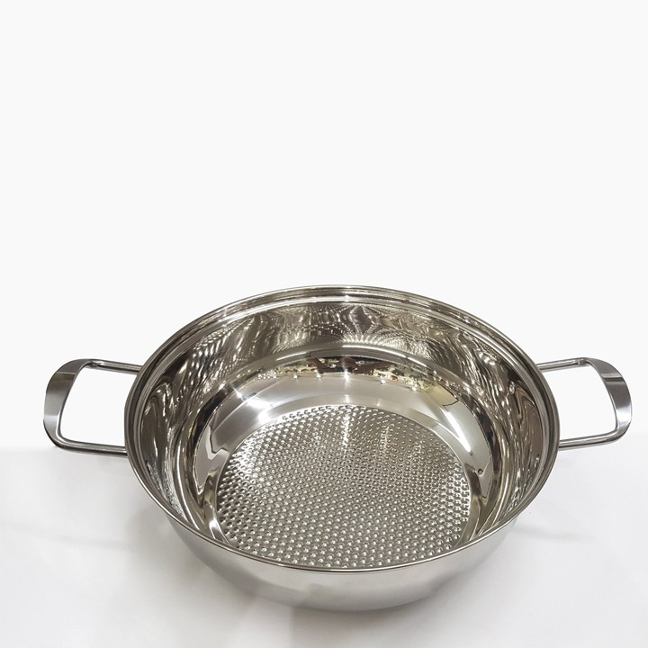 Nồi FREESHIP Nồi nấu lẩu inox size 28cm dùng được trên bếp từ bếp hồng ngoại bếp gas