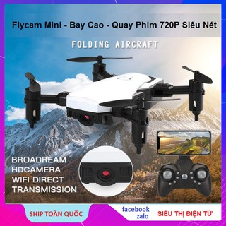 Flycam FX 806, Và LF 606 Mini Giá Rẻ - Bay Cao, Bay Lâu, Quay Phim 720P - Máy Bay Fly Camera 2021