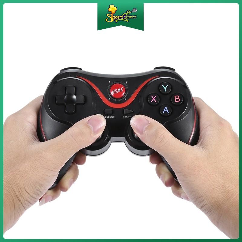 Tay Cầm Chơi Game Không Dây Bluetooth X3/T3 Cho Smartphone / iPhone / IOS / Android Smart Phone / PS3 / PC / TV Box /PC