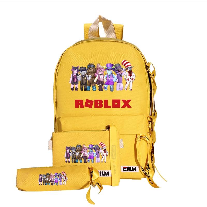 Ba lô đi học in họa tiết Roblox xinh