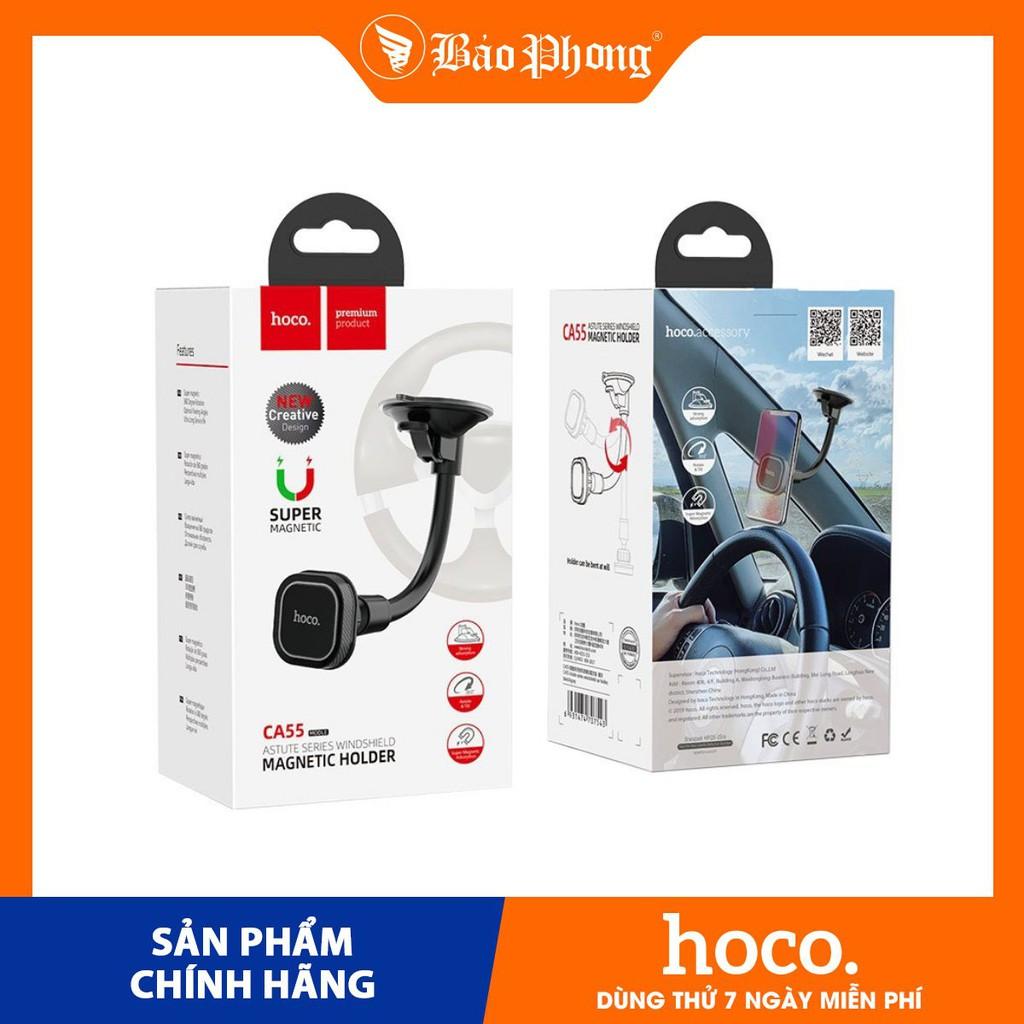 Giá đỡ điện thoại thông mình HOCO CA55 Dành cho điện thoại iPhone iP Huawei Samsung Oppo Realme
