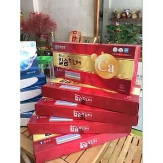 Viên Canxi Hàn Quốc Hộp Đỏ 120 Viên