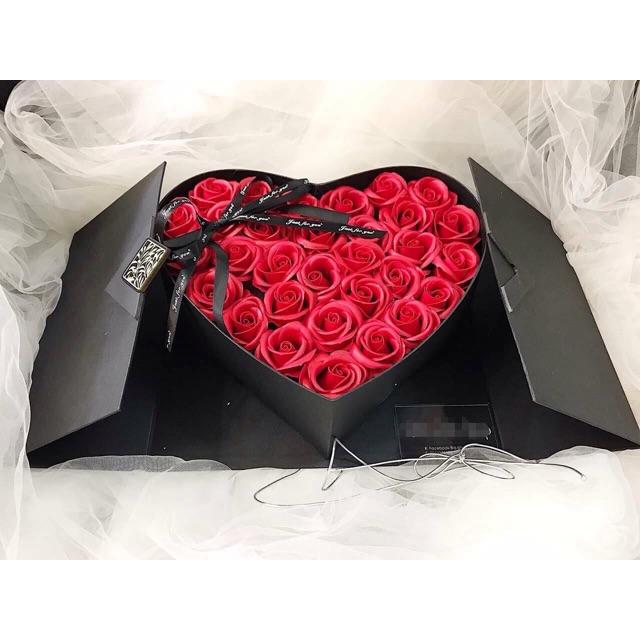 hộp tim mở