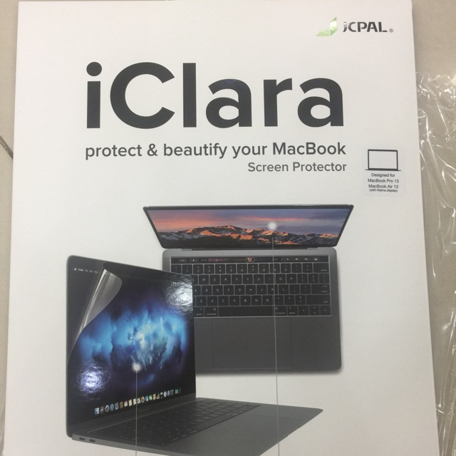 Dán màn hình Macbook pro 13″ touch bar /Air 2018 Giá chỉ 210.000₫