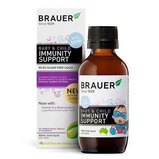 Tăng đề kháng Brauer Immunity Cho Bé Của Úc, 100ml