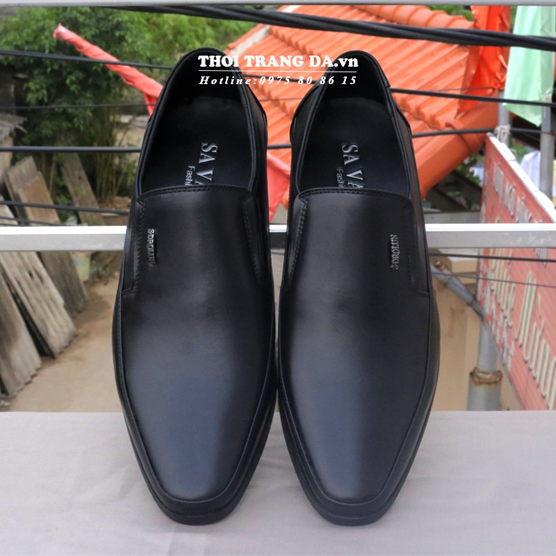 Giày tây da thật GLMM106 mềm thiết kế ôm chân