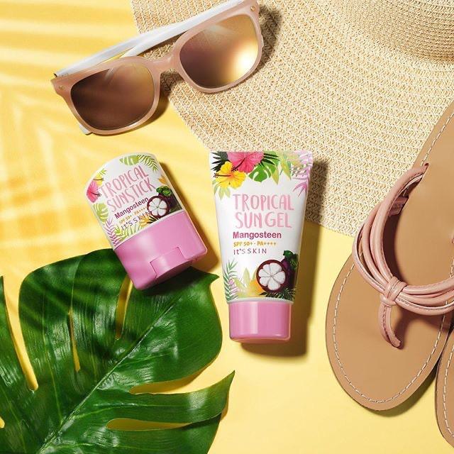 Kem Chống Nắng It's Skin Tropical Sungel Mangosteen Chống Lão Hóa Và Kháng  Viêm 50ml | Shopee Việt Nam