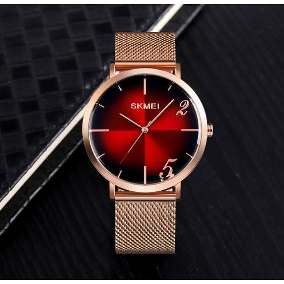 [Tặng vòng tay]Đồng hồ nam SKMEI chính hãng SK9200.02C dây thép không gỉ