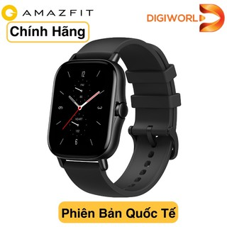 [Tặng kèm dây da][Hàng chính hãng DGW] Đồng hồ thông minh Amazfit GTS 2