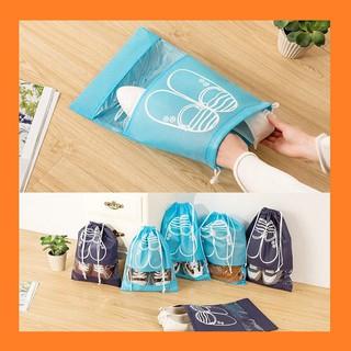 túi đựng giày dép chống bụi - set 5 túi rút bảo quản đồ dùng cá nhân