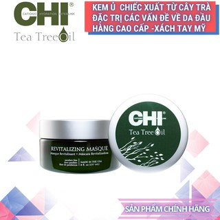 U To c Tri Ga u Nâ m Ngư a Da Dâ u CHI-TEA TREE REVITALIZING MASQUE 237ml - Ha ng Chi nh Ha ng