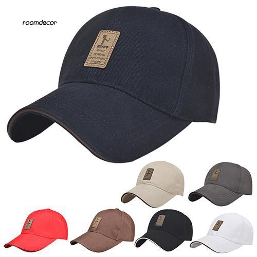 RMDC_Men's Summer Baseball Cap Outdoor Golf Caps Cotton Casual Adjustable Sports Hat