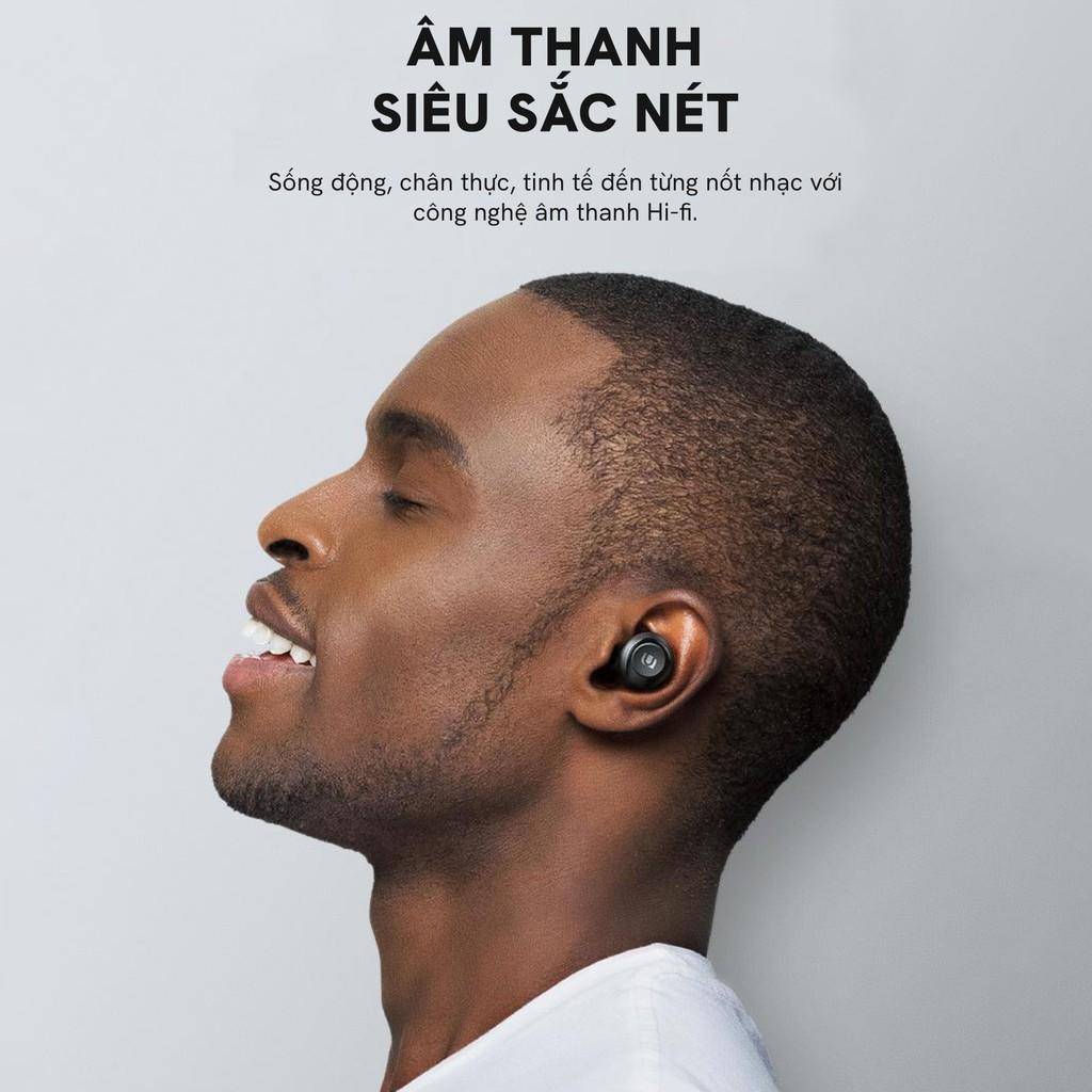 [BH 24 tháng 1 đổi 1] Tai nghe Bluetooth TWS UGREEN Hi tune WS100 - Chống nước IPX5, sạc 15 phút nghe 2h, sạc không dây