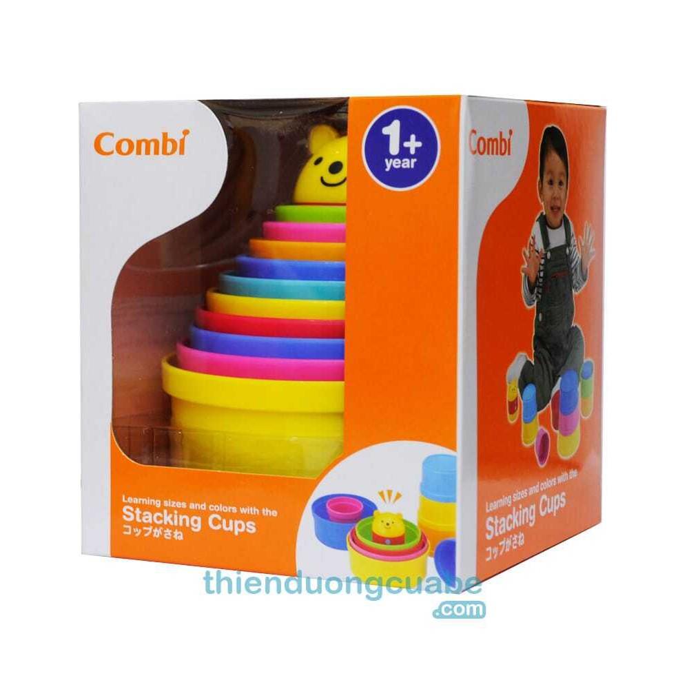 (KM Sốc)Bộ đồ chơi xếp hộp Combi