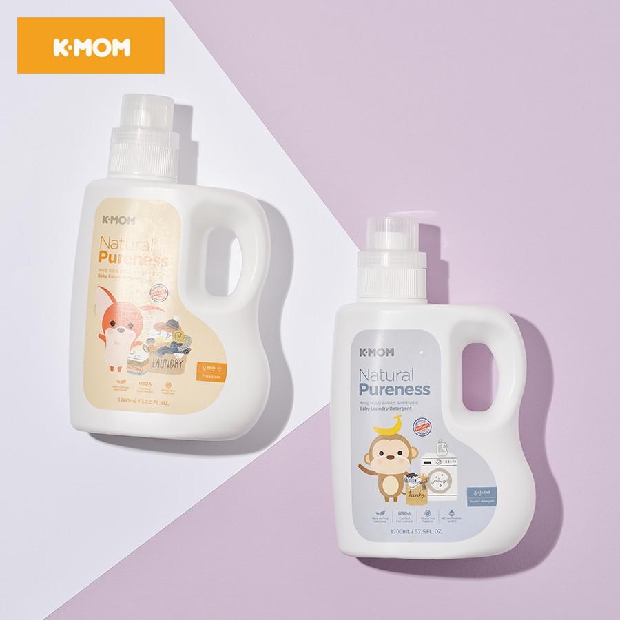 Nước xả vải sơ sinh chiết xuất thảo mộc K-Mom (can 1700ml)