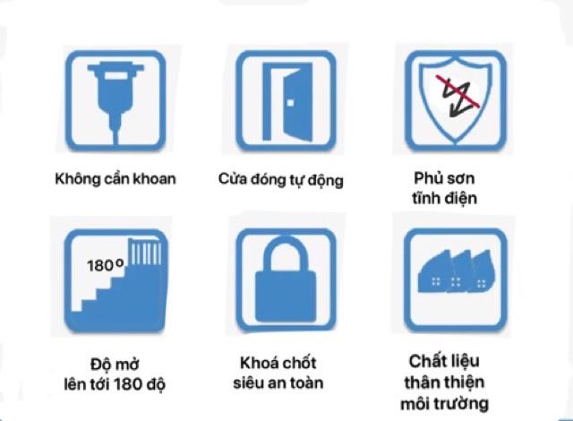 (HÀNG DÀY DẶN LOẠI 1) Thanh Chặn Cửa Chặn Cầu Thang An Toàn Cho Bé