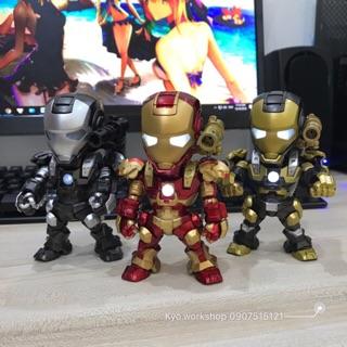 Mô hình Ironman WarMachine có đèn Led cảm ứng tiếng động