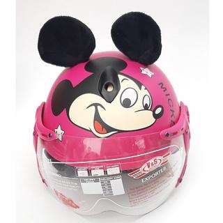 [HOT] Mũ bảo hiểm trẻ em, nón bảo hiểm 1 2 đầu cho bé đáng yêu VS103K - Dành cho bé từ 3-6 tuổi thumbnail