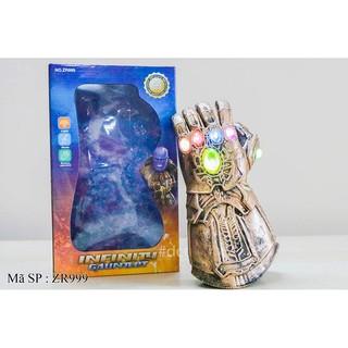 Hộp găng tay Thanos pin đèn nhạc ZR999