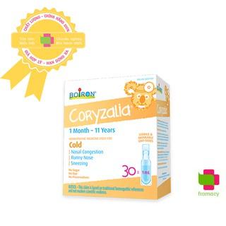 Muối uống vi lượng đồng căn Boiron Coryzalia Coldcalm, Canada USA (15 30 tép) cho bé từ 1 tháng - 11 tuổi thumbnail