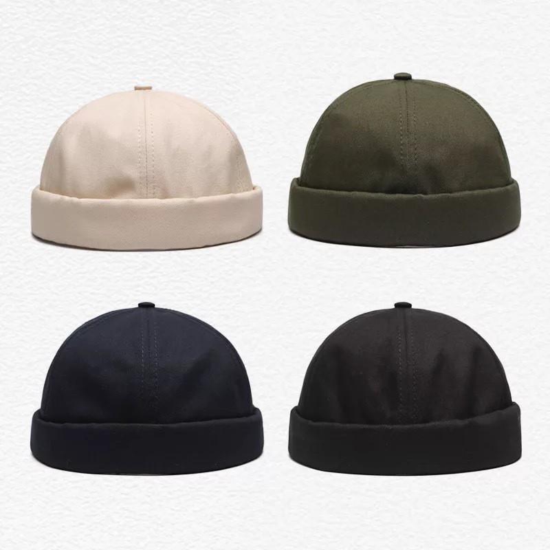 Mũ Tròn Màu Trơn Phong Cách Cổ Điển Hàn Quốc
