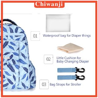 [CHIWANJI] Cute Diaper Backpack Nappy Baby Newborn Shoulder Bags with Stroller Straps
