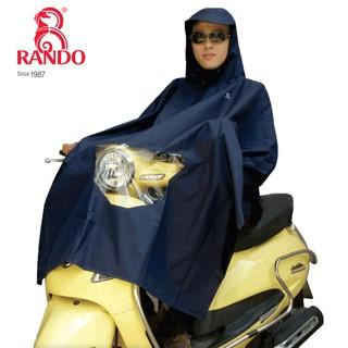 Yêu ThíchÁo mưa Poncho vải BEST có kiếng phủ đèn xe máy RANDO