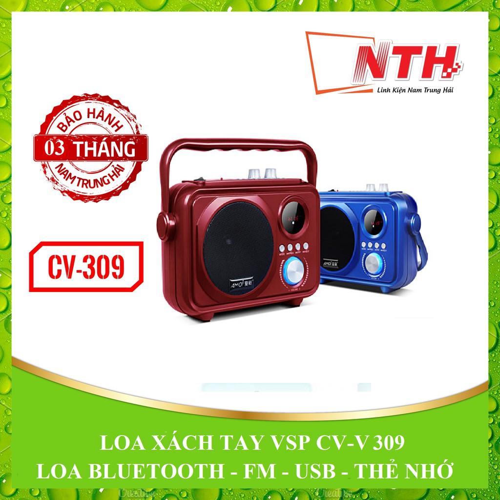 [NTH] LOA XÁCH TAY BLUETOOTH VSP CV-309 LED