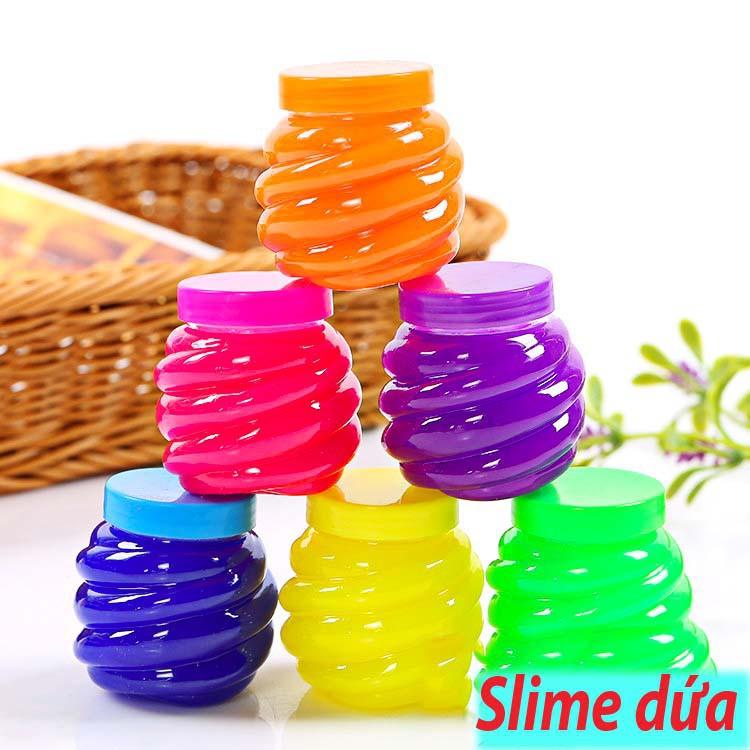 đồ chơi slime lọ hình dứa